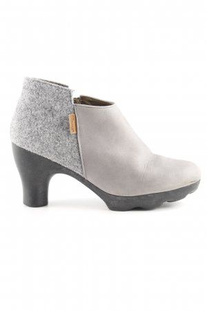 El Naturalista Low boot gris clair style extravagant
