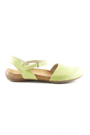 El Naturalista Komfort-Sandalen grün-braun Casual-Look