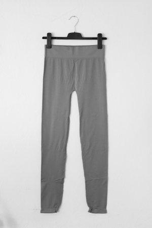 elastische Leggings in grau