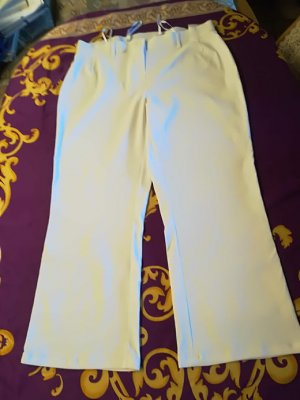 Sheego Stretch Trousers white