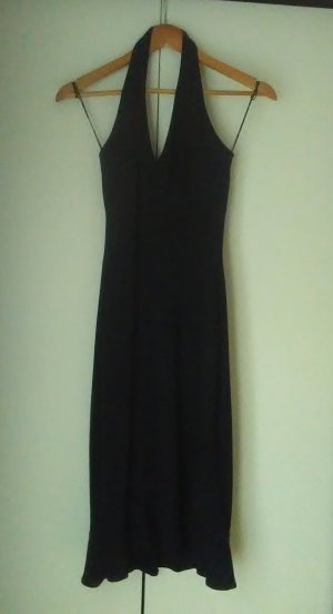Midi Dress black synthetic