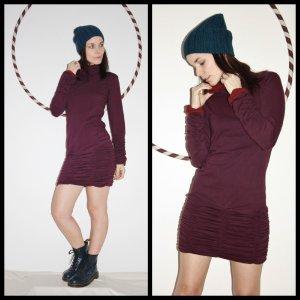 Elastok Dress*Petrol*S-M*Pulloverkleid*Kragen