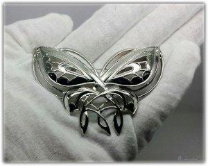 Broche zilver