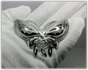 Elben Fairy Magical Butterfly Undómiel Abendstern Festival Brosche versilbert