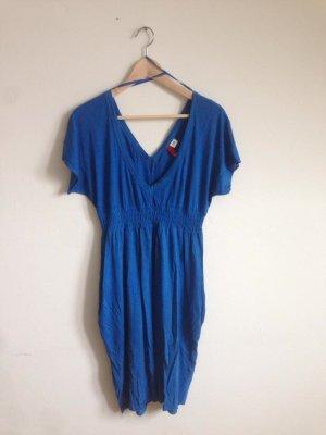 Electric Blue Color Dress