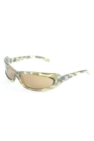 Electric California ovale Sonnenbrille grün Animalmuster Casual-Look