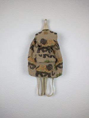 elefanten rucksack hippie indie boho goa festival look