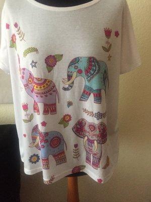 Elefanten stehen für Glück - schönes Shirt
