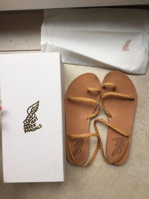 Ancient greek sandals Sandalo romano beige