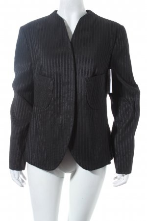 Elegance Blazer schwarz Struktur-Optik