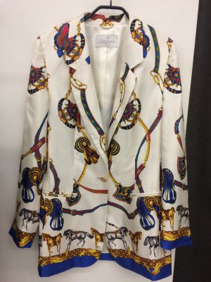 Elégance Paris Blazer multicolore