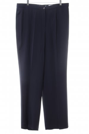 Elégance Pantalone a pieghe nero stile professionale
