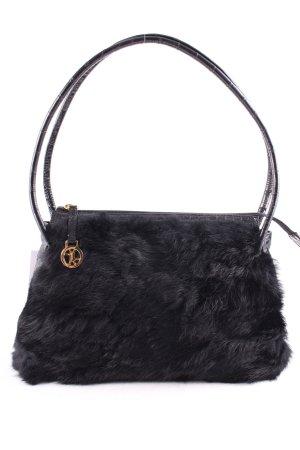 Elégance Handtasche schwarz Casual-Look