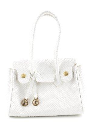 Elégance Handtasche weiß Casual-Look