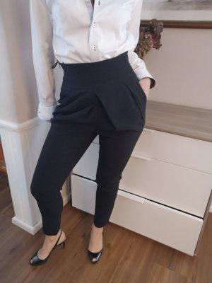 Classic Elegance Pantalone peg-top nero
