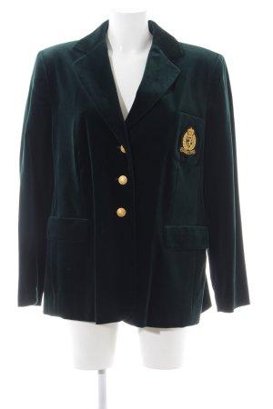 Elégance Jersey Blazer green business style