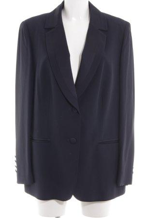 Elégance Jersey Blazer blue business style