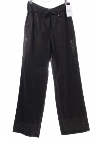 Elegance Marlene Trousers black casual look