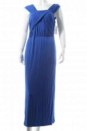 Elegance Maxikleid blau Beach-Look