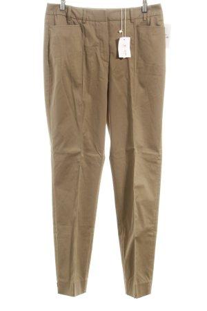Elégance Paris Pantalon à pinces beige style d'affaires