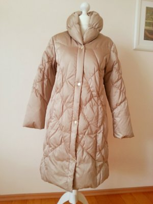 Elégance Paris Down Coat beige mixture fibre