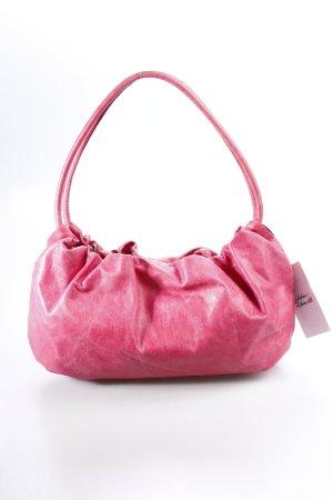 Elégance Paris Henkeltasche pink Leder-Optik