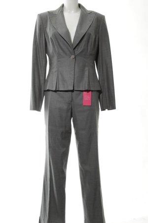 Elégance Paris Tailleur-pantalon gris clair style d'affaires