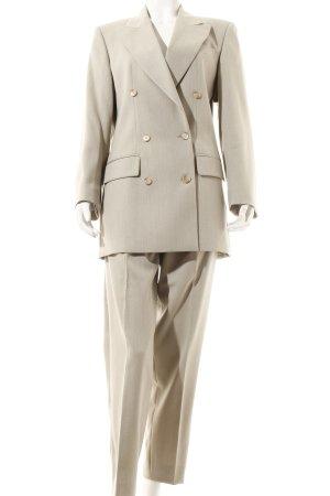 Elégance Paris Trouser Suit beige simple style