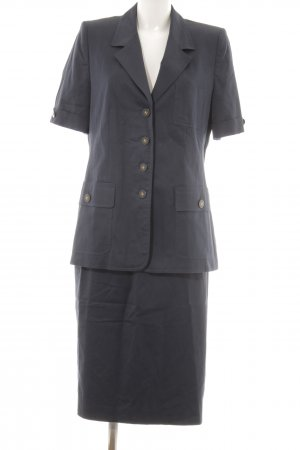 Elégance Paris Kostüm dunkelblau Business-Look