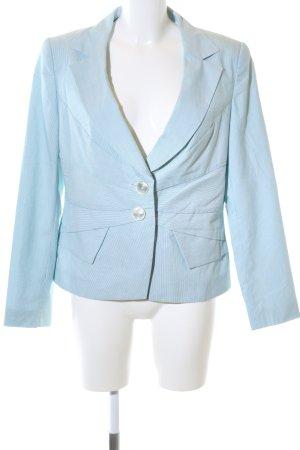 Elégance Paris Kurz-Blazer blau Business-Look
