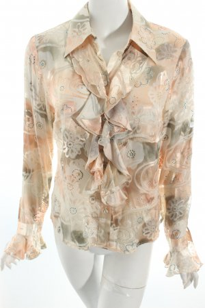 "Elégance Paris Blouse à volants ""Prestige"" or rose"