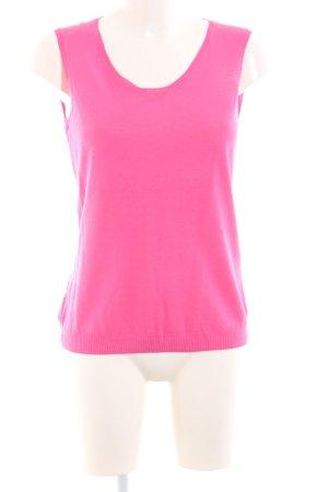 Elégance Paris Haut tricotés rose style décontracté