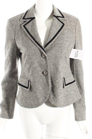 Elégance Paris Woll-Blazer hellgrau meliert Elegant