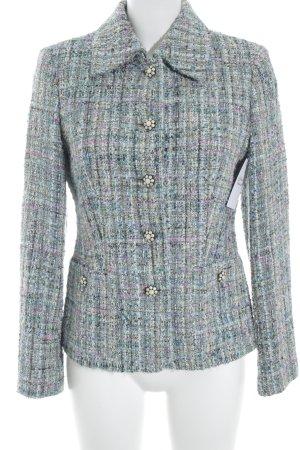Elegance Prestige Blazer in maglia multicolore stile casual