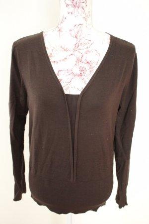 ELEGANCE Pullover braun