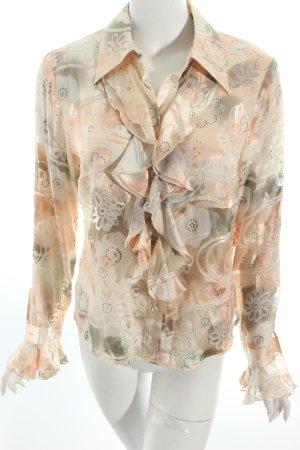 "Elegance Rüschen-Bluse ""Prestige"" roségoldfarben"