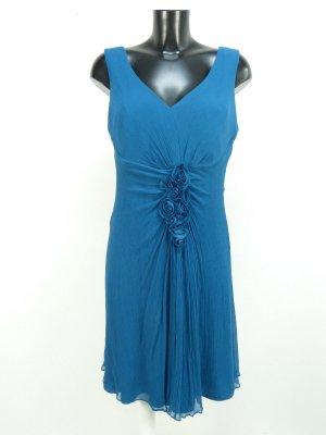 ae elegance Vestido de noche azul