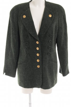 Elégance Wool Jacket dark green country style