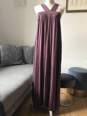 Elegant legeres bodenlanges Sommerkleid, Gr. XS