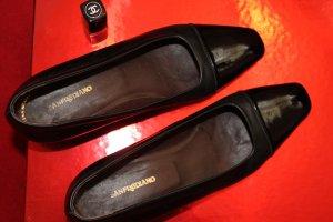 Elegant schw.Ballerina-pumps low heel, 37,5