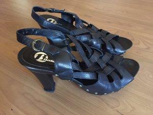 Bata High Heel Sandal black leather