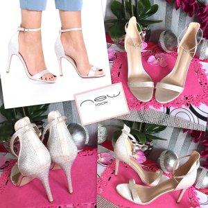 Elegant - Sexy - NEU    Satin Sandaletten Gr .42