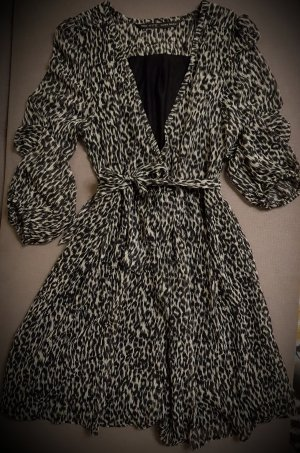 Zara Basic Robe portefeuille multicolore