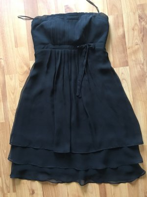 Marie Blanc Vestido bustier negro