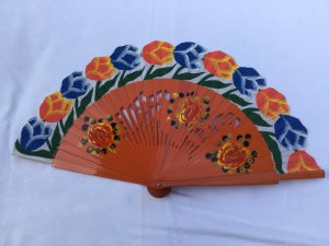 Hand Fan multicolored