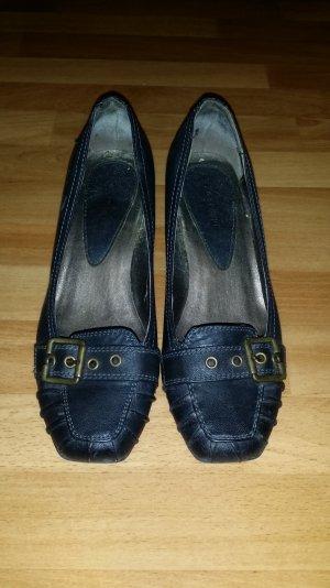 elegante Absatzschuhe, Businesschuhe in dunkel grau Gr. 36 von Graceland