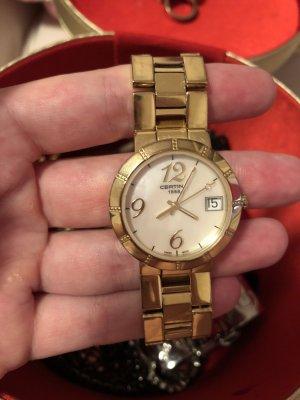 Elegante Armbanduhr von Certina