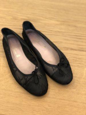 Pretty ballerinas Ballerinas with Toecap black