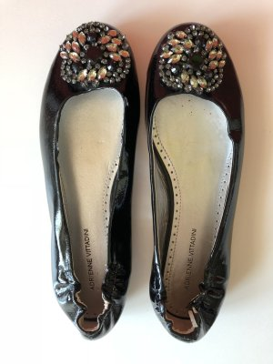 Patent Leather Ballerinas multicolored imitation leather