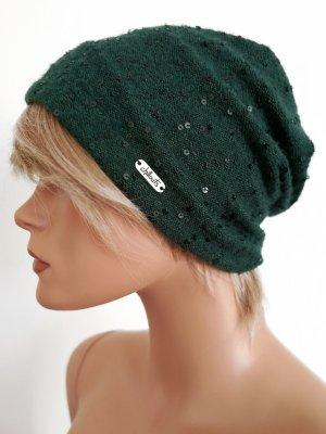Bonnet vert foncé